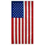 American Flag Towel
