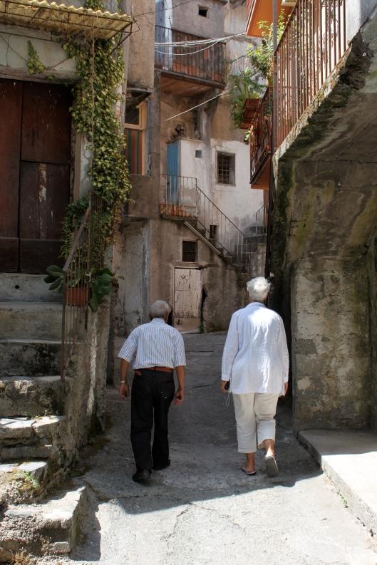 Walking in Verbicaro