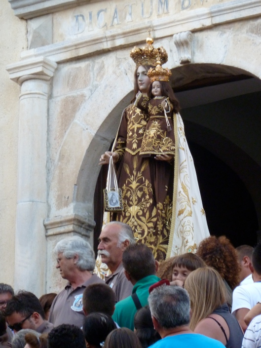 Virgen del Carmelo in Scalea
