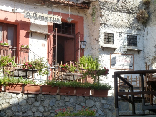 Antica Taverna in Scalea, Italy