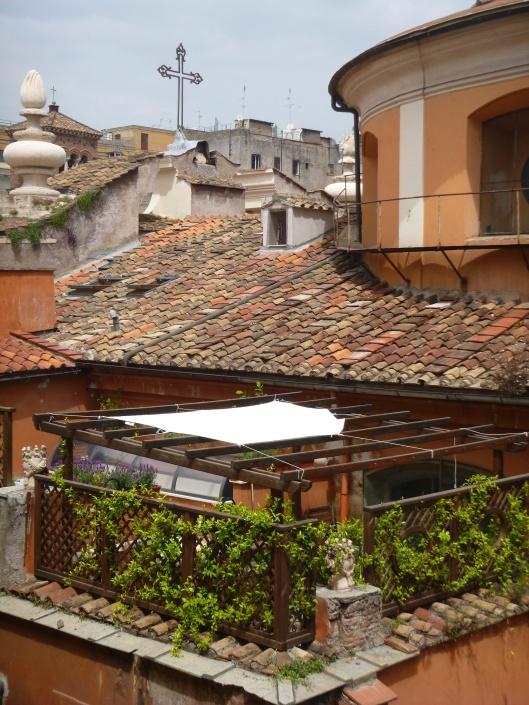 Roof Garden in Rome