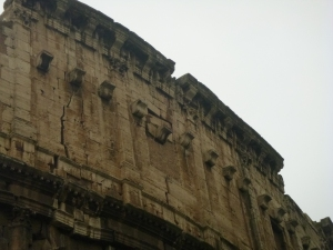 Cracks in the Colisseum