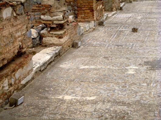 Mosaic sidewalks