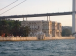 Floating on the Bosphorus and catching the sites along the shores.