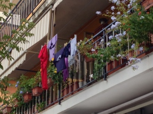 I'll miss the balconies and all that they represent.