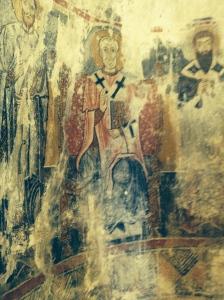 14th Century fresco hidden away at the top of Centro Storico.