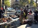 A random street market