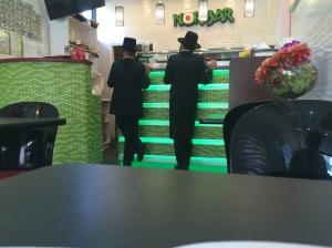 Hasidim at the Sushi Bar